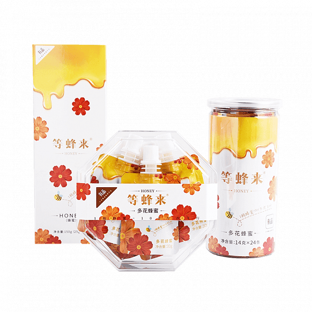 Xiaomi Waiting For Exquisitely Portable Natural Mature Multi-Flower Honey