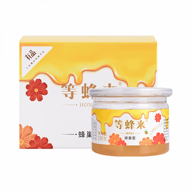 Xiaomi Waiting for bees Honeycomb Honey 190g